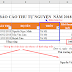 Sử dụng hàm subtotal để làm báo cáo động Excel cực hay