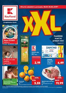 CATALOG KAUFLAND 30 ianuarie - 5 februarie 2019 oferte XXL