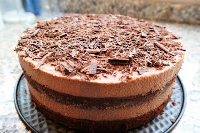 Çikolatalı Pasta (Rafine Unsuz ve Şekersiz)