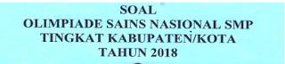 Contoh Soal OSN IPS SMP 2019