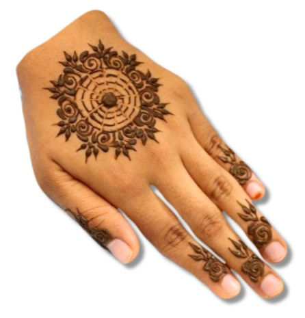 Teenager Mehndi Designs
