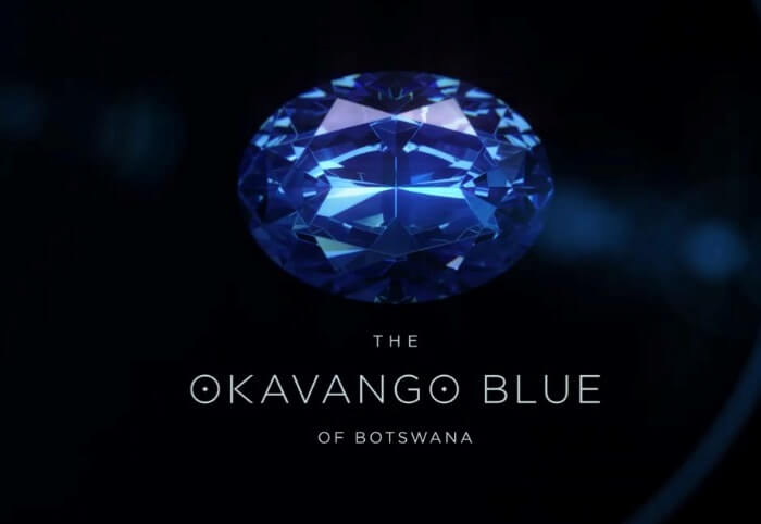 Berlian Okavango Blue