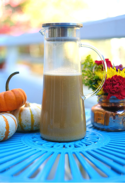 Organic Pumpkin Spice Cashew Coffee Recipe