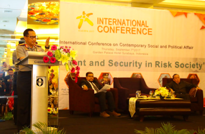 Kapolri Jadi Pembicara di International Conference on Contemporary Social and Political Affair
