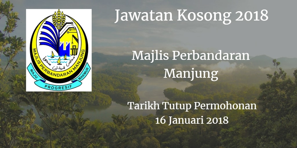 Jawatan Kosong MPM 16 Januari 2018