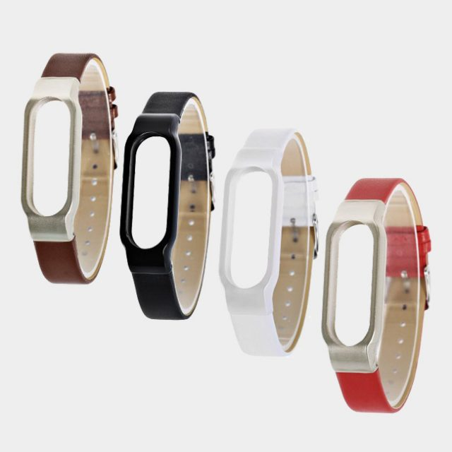 Xiaomi Ultrathin Mi Band 2 Leather Strap