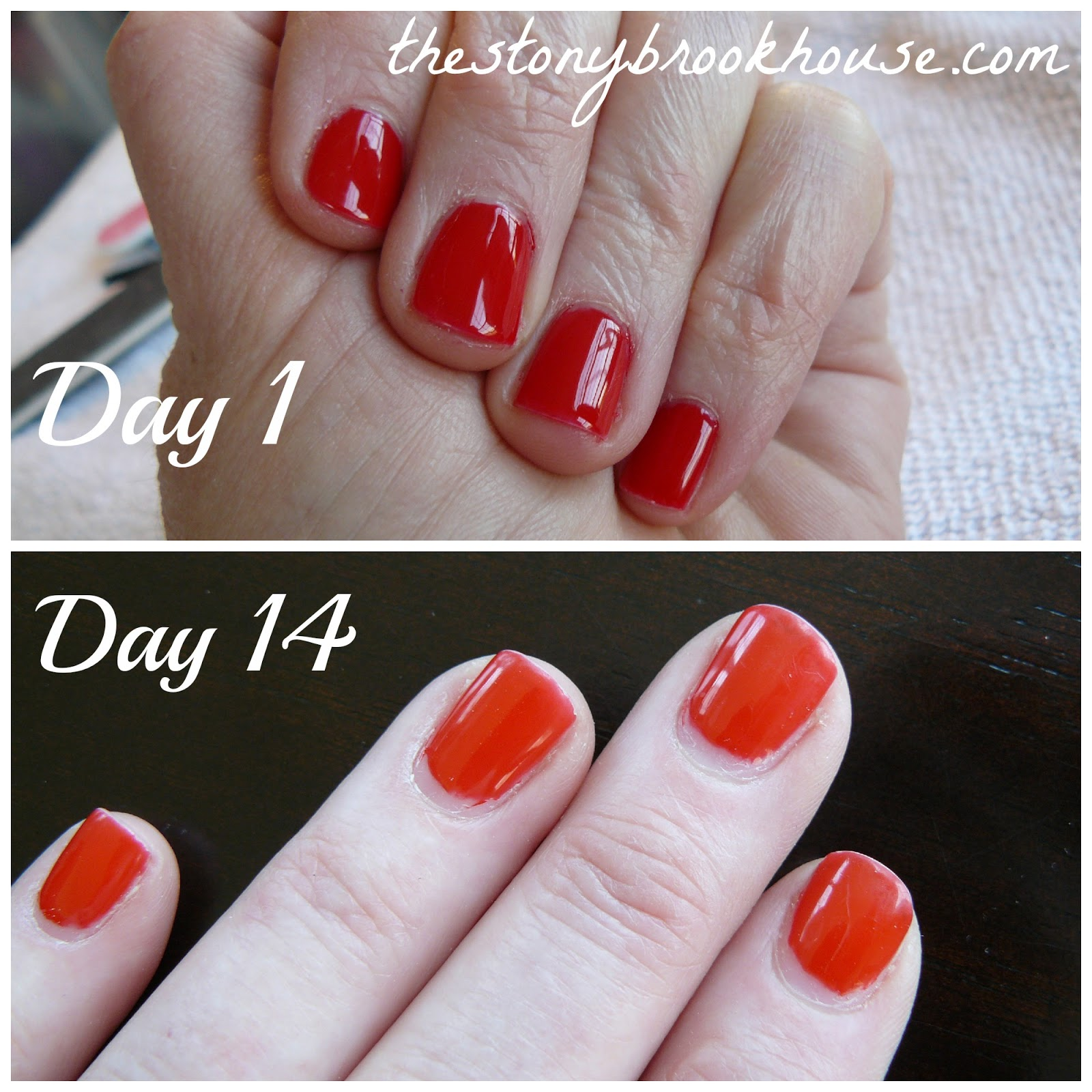 Gel Nails ~ 14 Day Update - The Stonybrook House