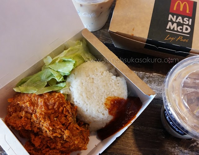 Nasi McD - Nasi Lemak atau Nasi Ayam?