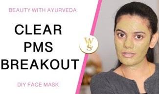 DIY face mask | Clear PMS breakouts