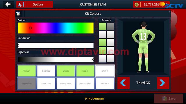 Cara Mengganti atau Modifikasi Number Font Pemain dream League Soccer 2017/2018