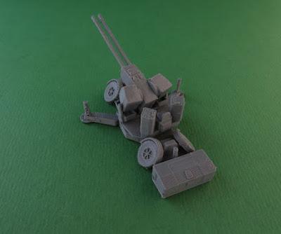 Oerlikon GDF 35mm Twin Cannon Anti-Aircraft Gun picture 4