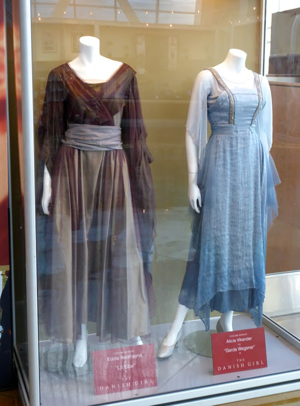 Danish Girl Lili and Gerda movie costumes
