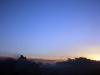 燕岳の冬山登山