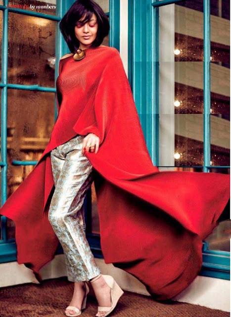 Kajal Agarwal stunning photoshoot for Femina India Magazine