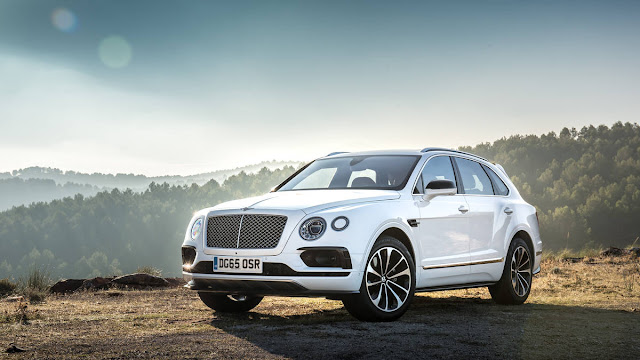 2017 New Bentley Bentayga Test performance