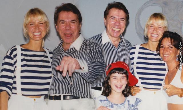 Xuxa faz homenagem ao aniversário de Silvio Santos