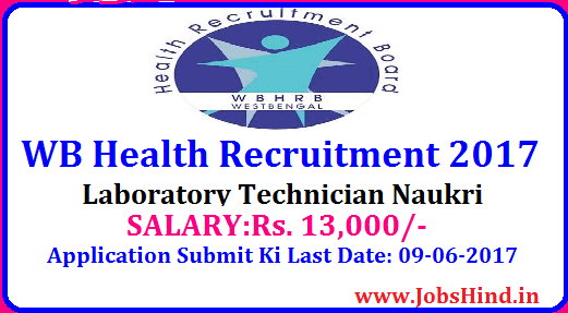 WB Health Recruitment 2017