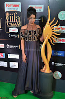 Sanjjanaa Galrani aka Archana Galrani in Maroon Gown beautiful Pics at IIFA Utsavam Awards 2017 24.JPG