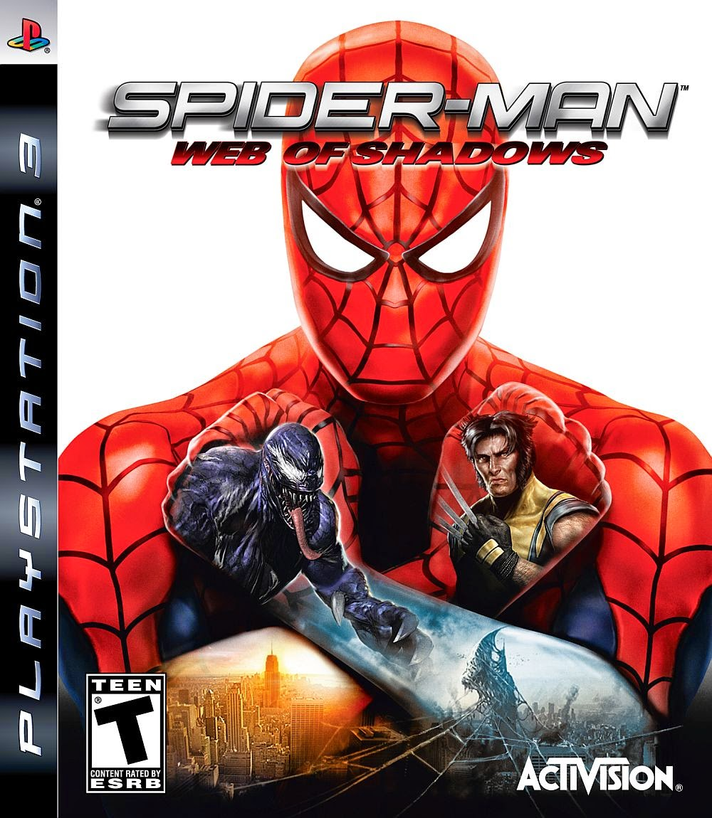 Spiderman web of shadows PS3 free download full version