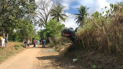 Polícia suspeita que motorista do Samu foi assassinado antes de seu carro capotar