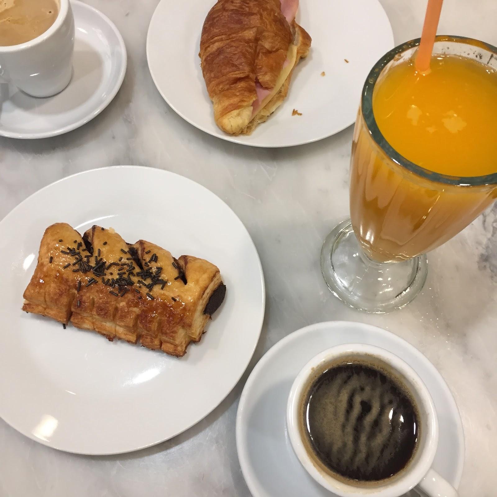 Granier San Bernardo breakfast