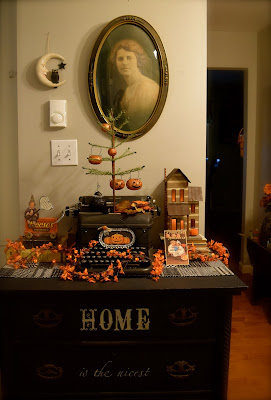 Fall Vignettes and Folk Art