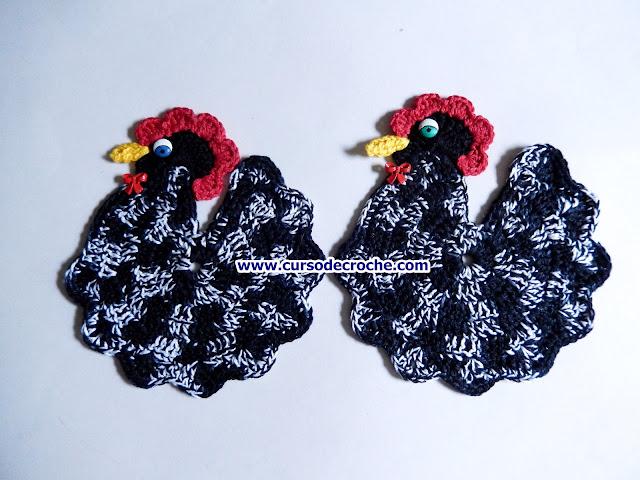 edinir croche videos cozinha galinha-d'angola decoração facebook curso de croche loje dvd edinir-croche
