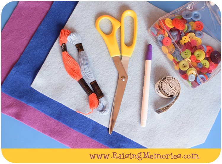 Easy Sewing Project for Kids by www.RaisingMemories.com