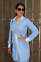 Richa Chadda Latest Pos in Blue Short Dress at the Screening Of Short Film Khoon Aali Chithi  0010.jpg