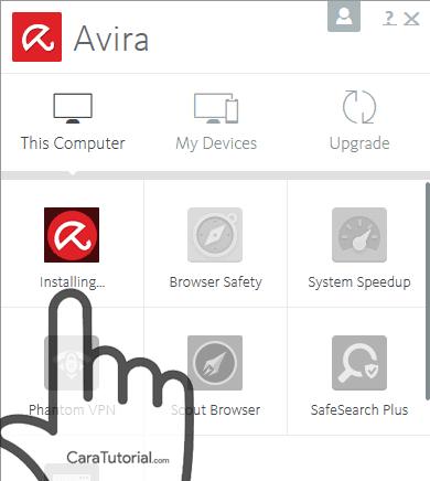 Installing avira free antivirus