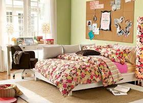 gambar rumah idaman: dekorasi warna tema kamar anak remaja
