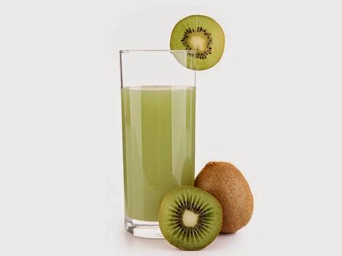 Jus buah kiwi
