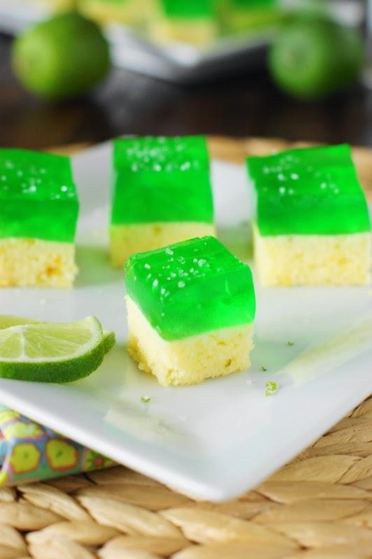Margarita Cake-n-Jello Shots
