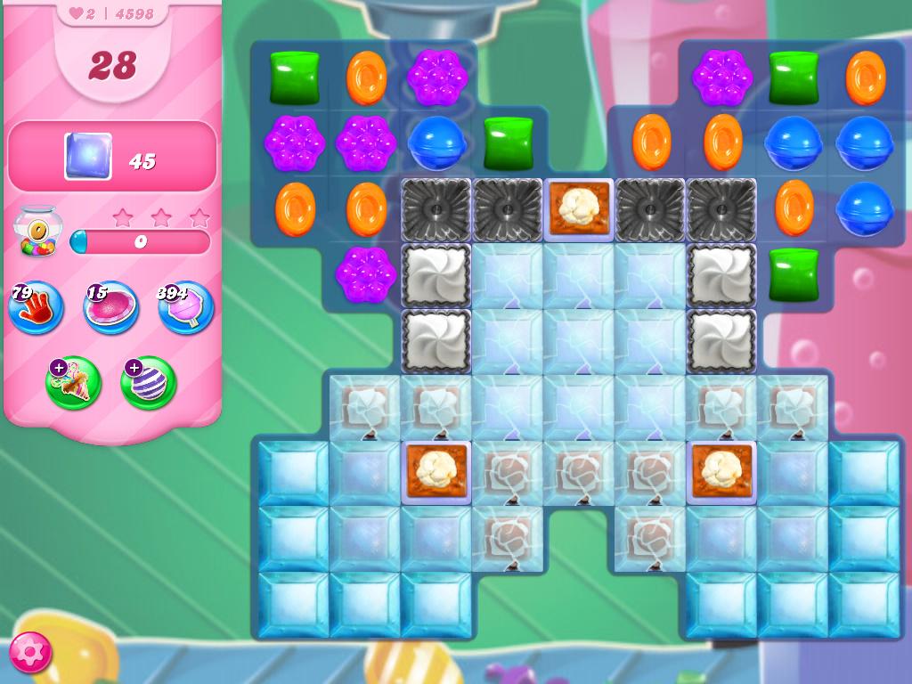 Candy Crush Saga level 4598