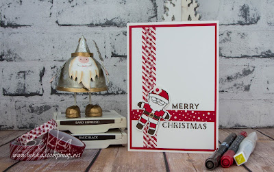 Give (or get) the Gift of Crafting and a cute Santa Christmas Card