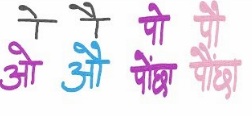 Difference Between O and Au Matra | ओ और औ की मात्रा मे अंतर समझना