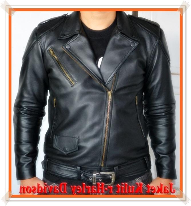 model jaket kulit bikers asli
