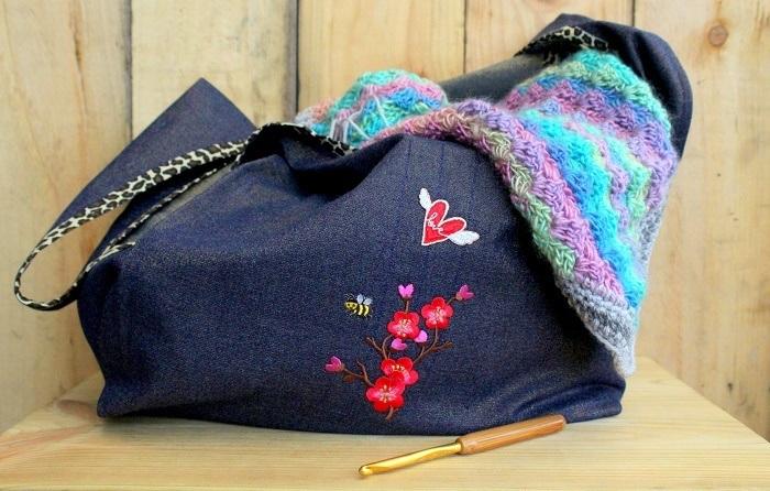 Sewing: Grainline Stowe Bags
