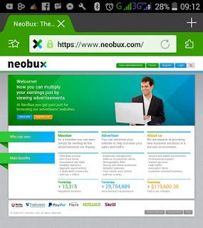 IMG 20170211 092034 Cara mudah klik iklan Neobux di Handphone Android