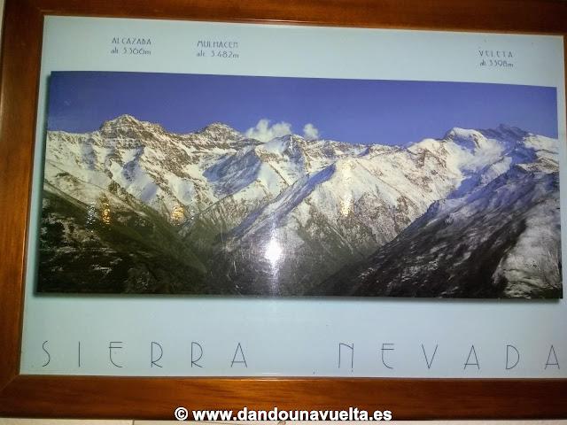 Alcazaba, Mulhacén y Veleta. Los tres picos más importantes de Sierra Nevada, Granada
