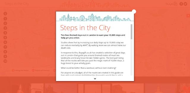 Steps in the City, Ten Themed Walks, London, #10000steps