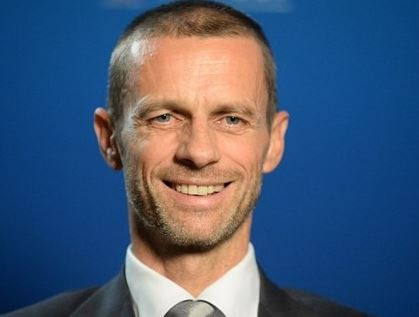 Aleksander Ceferin re-elected as UEFA president for four-year term