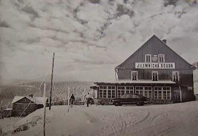 Historické foto Jilemnické boudy