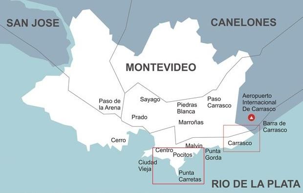donde buscar hotel en Montevideo
