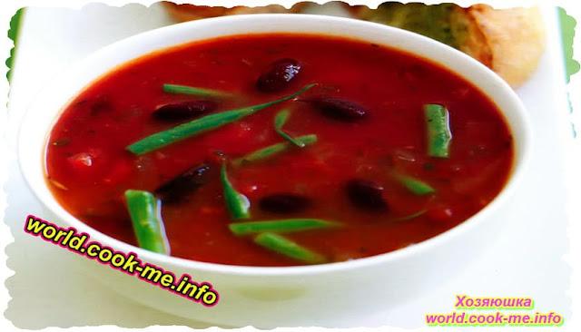 Рецепт итальянского фасолевого супа