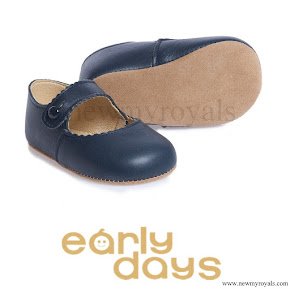 Princess Charlotte wore Early Days-Emma Pre-Walker Shoes
