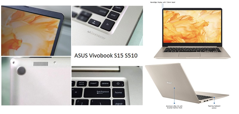 5 THINGS ABOUT ASUS VIVOBOOK S15 S510
