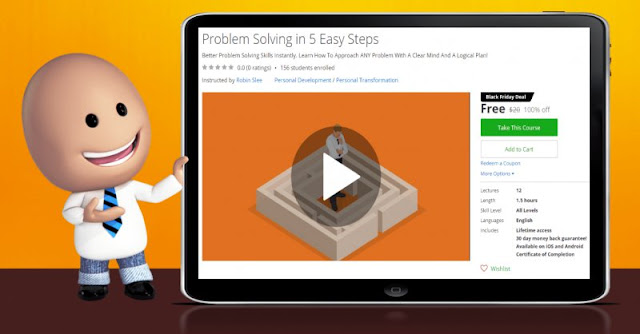 [100% Off] Problem Solving in 5 Easy Steps| Worth 20$