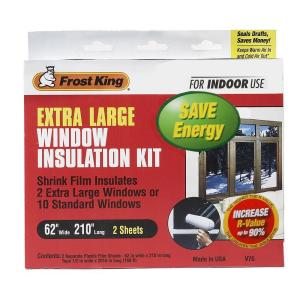 Fingers Crossed Window Insulation Kit Frost King