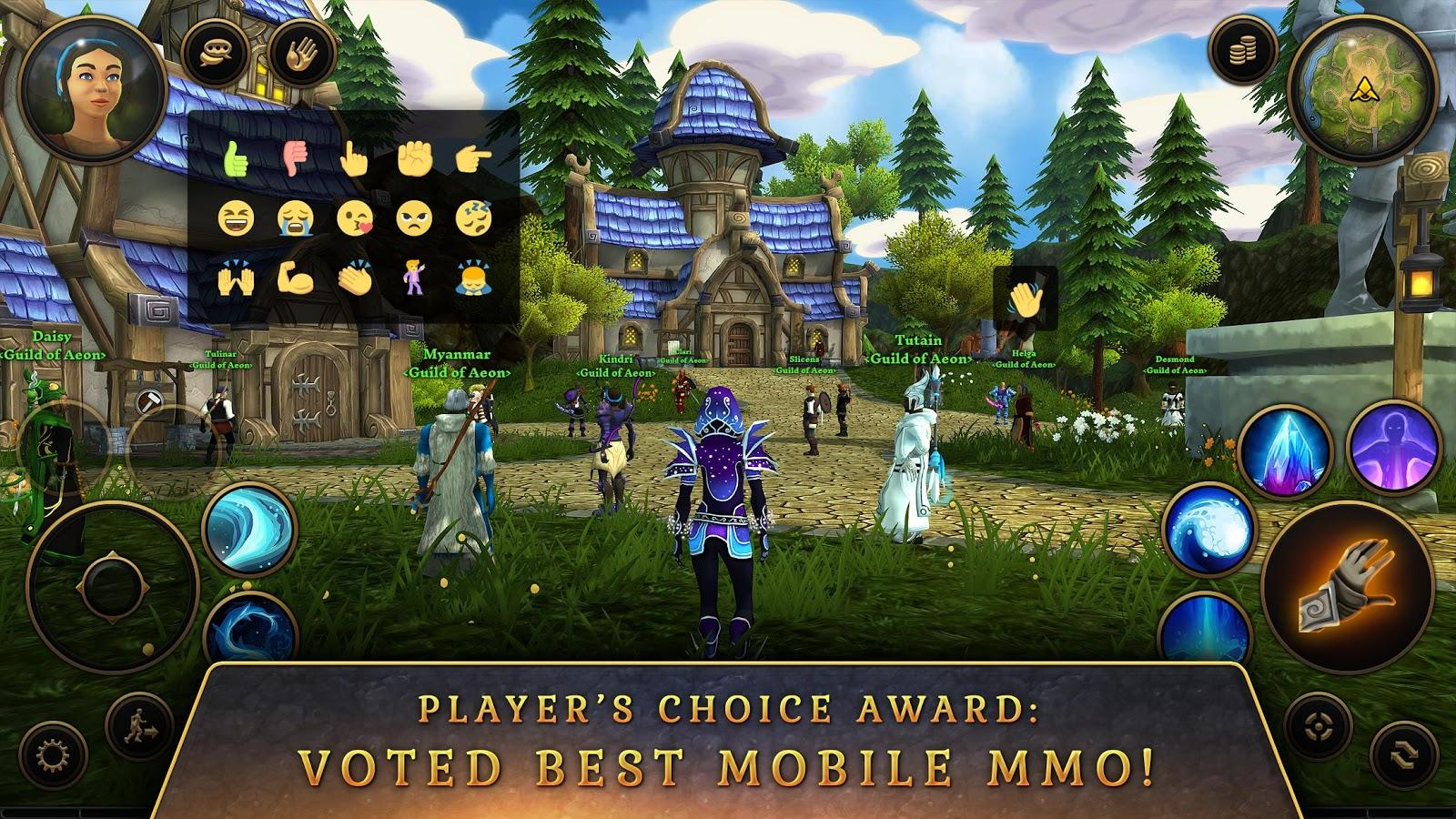 3D MMO Villagers & Heroes APK + OBB for Android - Approm ...